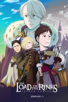 Yuri on Ice and LOTR crossover?!?!! I ❤ it !