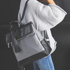 2017 Newest Fashion Backpack Female Bag Fringed Women's Shoulder Bags Korean Version Backpack Student Bag Leisure Travel Bags