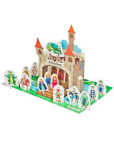 Medieval Castle Paper Theater  DIY Craft Kit  Puppet by pukaca, $6.00