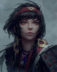 Image result for fantasy character dark hair