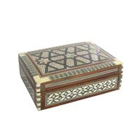 Egyptian Mother of Pearl box (medium)