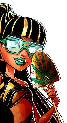 ♥ Monster High ♥ Ever After High ♥ : Photo Arte Monster High, Love Monster, Monster High Dolls, Cartoon Monsters, Cool Monsters, Ever After High, Draculaura, Monster High Pictures, Personajes Monster High