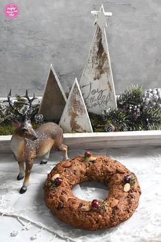 Weihnachtliche Kuchen & Torten - sugar&rose White Chocolate, Pies, Kuchen, Pistachios, Advent Season, Brot, Christmas