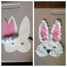 Crochet basket for kids easter bunny ideas Easter Crafts For Kids, Crafts To Do, Fall Crafts, Diy For Kids, Arts And Crafts, Paper Crafts, Children Crafts, Crochet Mittens Free Pattern, Bunny Mask