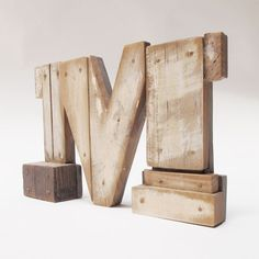 "Industrial Letters Wall Hanging Wooden Letters ""l""industrial Letterswall Hanging Initals"