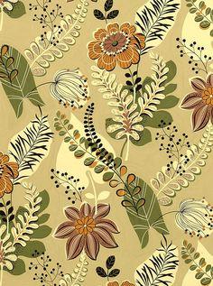 50's Floral Print
