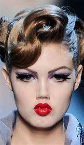 Image result for 50s Makeup