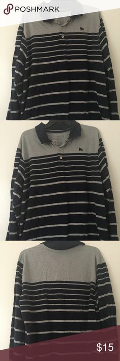 Old Navy Men's Long Sleeve Striped Sweater XL Old Navy Men's Long Sleeve Blue & Grey Striped Sweater XL Old Navy Sweaters