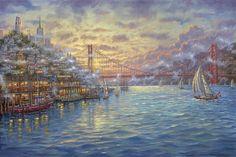 Sunset on the Bay    San Francisco
