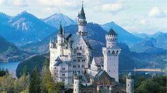 Walt Disney se inspiró en el castillo de Neuschwanstein para crear el famoso icono de sus parques de atracciones