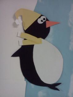 sliding penguin craft