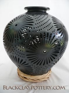 black pottery in Oaxaca, Mexico