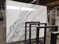 Calacatta Grey Marble Slab Good for your flooring tile, counter top, wall covering Email: Ink Wash, Xiamen, Calacatta, Picture Sizes, Counter Top, White Marble, Tile Floor, Tiles, Flooring