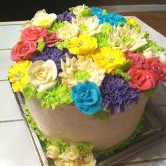Cake of blooms...:)