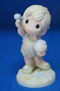 Tinker Bell Reach for the Stars Disney Precious Moments 2007 Figurine 720020 #PreciousMoments