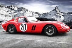 #FerrariFriday (07 Feb-2014) - Ferrari 250 GTO #CarFlash