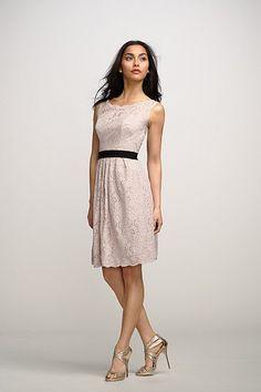 Watters Maids Dress Camellia