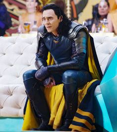 Tom Hiddleston as Loki in Thor:Ragnarok