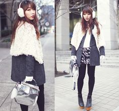 White holiday (by Ivy Xu) http://lookbook.nu/look/4383295-white-holiday