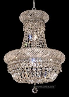 22 Light Foyer Empire GoldenAge Chandeliers You Lite Up My Life