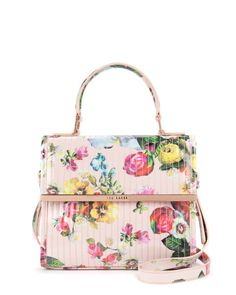 Oil painting cross body bag - Nude Pink | Bags | Ted Baker ROW