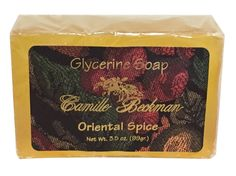 Camille Beckman Glycerine Bar Soap, Oriental Spice, 3.5 oz * Learn more by visiting the image link.