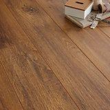 Ostend Oxford Oak Effect Laminate Flooring 1.76 m² Pack | Departments | DIY at B&Q