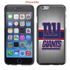 iPhone 6 Case, iPhone 6S Cases, NY Giants Logo 25 Drop Protection Never Fade Anti Slip Scratchproof Black Hard Plastic Case. Save $2.15 when purchase 2 Qualifying items.Save $3.85 when purchase 3 Qualifying items. Comfortable and smooth surface. Comfort grip. The Protective shell cover is easy to install and remove. Unique design to avoid slipping from hand. shipping time 6-13 days.