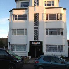 Beautiful art deco building in Westcliff-on-Sea , Essex