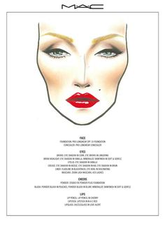 MAC Marilyn make-up look