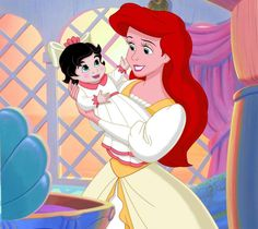 LITTLE MERMAID disney fantasy animation cartoon adventure family ariel princess wallpaper background Ariel Disney, Disney Babys, Mermaid Disney, Cute Disney, Disney Art, Walt Disney, Disney Fantasy, Disney Cartoon Characters, Disney And Dreamworks