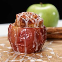 Baked Toffee Apples Recipe by Tasty