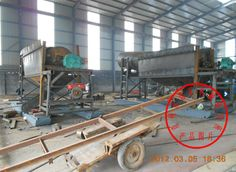 The site Contrast of Dryland Gold dredging equipment exported to Ghana and the local labor work