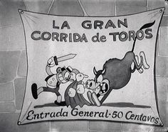 El Terrible Toreador (1929) © Walt Disney Productions