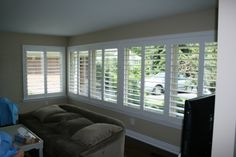 At Blind Advantage, we carry the Eclipse Brand Vinyl Shutter and the MaxxMar wood shutter both manufactured in Ontario.