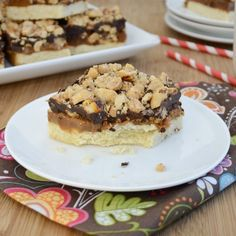 Snickers Bars from Sweet Pea's Kitchen