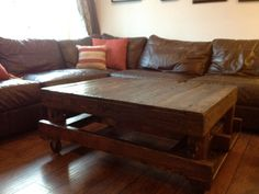 Reclaimed Wood Coffee table by RusticIndustry on Etsy, $300.00 in Seattle