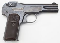 Manufacturer: Fabrique Nationale d'Herstal Model: 1899 & 1900 Finish: Blued Construction: Carbon Steel Action: Single-action Operation: Blowback, semi-automatic Type: Pistol Caliber: .32 ACP (7.65×17mm) Capacity: 7+1 Year(s) Produced: 1899-1914 Quantity Produced: ~724,550
