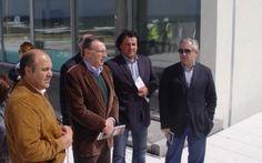 Executivo da Câmara da Póvoa visita obras em Quião, Mercado e Garrett