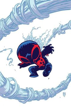 Spider-Man 2099 #1 variant cover by Skottie Young *