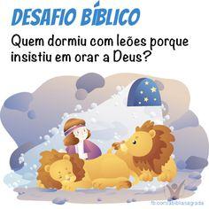 Resposta: o texto do livro de (Daniel 6), relata que foi Daniel que foi lançado na cova dos leões