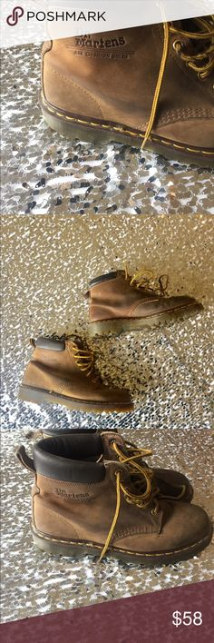 Made in England Dr martens boots size 9 Made England Dr martens leather boots size 9 Dr. Martens Shoes Ankle Boots & Booties