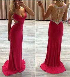 Sexy Sheath Prom Dresses,Long Evening Dresses,Tight prom dress,Glamorous prom dress