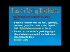 How to Take Good Notes.mp4 #takenotes #studyskills #ontrack #onlineschool
