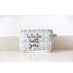 Nordic Style Simplicity Laundry Basket Home Washing Sorter Hamper Cotton Linen Toys Storage Bag #94883