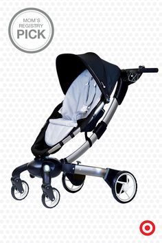 The innovative 4moms origami is a stroller with serious breakthrough technology. It the first-ever power-folding stroller that opens and closes at the touch of a button, has generators in the wheels to charge the stroller (and your cell phone) while you walk, plus includes daytime running lights and path lights for low-light conditions.