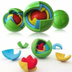 Oblo Puzzle Spheres - kinda like a rubiks cube, only round. $17.99