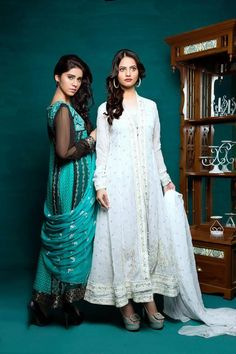 Amna Ismail Semi Stitched Chiffon Collection 2015 For Winter (9)
