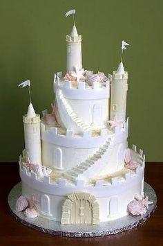 Lindo bolo de castelo.