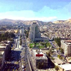 Damascus, so ancient, modern & full of life.